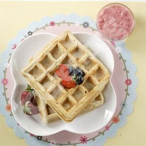 Parenting.co.id: Berry Nice Waffle