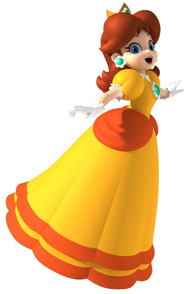 Princess Daisy from the Mario series.  #supermario #princessdaisy