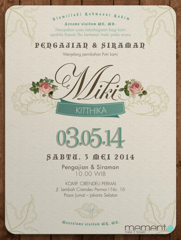 8 best miki nino wedding invitation images on pinterest our clients is javanese and they wanted to make 2 types of wedding invitation card stopboris Images