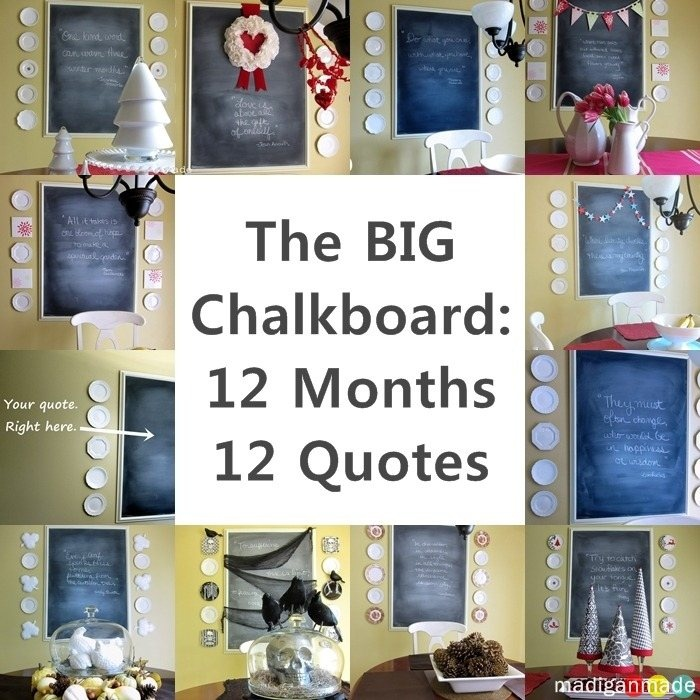 Chalkboard Quotes: 17 Best Kitchen Chalkboard Quotes On Pinterest