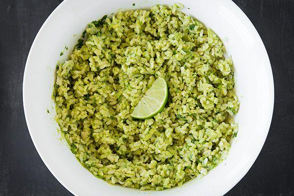 Avocado Cilantro Lime Rice - Cooking Classy