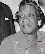 Alberta Christine Williams King (September 13, 1904 – June 30, 1974) was Martin Luther King, Jr.'s mother and the wife of Martin Luther King, Sr. She played a significant role in the affairs of the Ebenezer Baptist Church. She was shot and killed in the church six years after the assassination of Martin Luther King, Jr.  She was 70 years old.