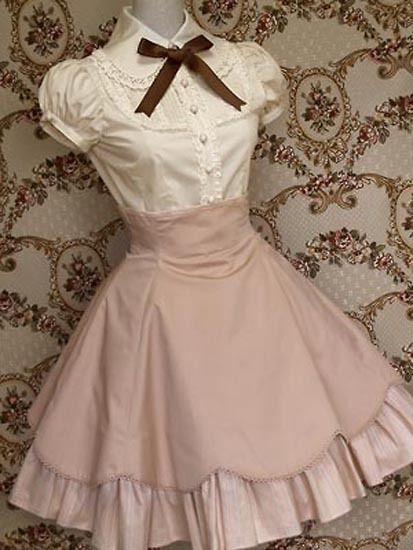 sweet loveable lolita dress designs novel~fresh perfect #Handmade