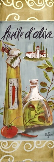 Olives On Beige III by Rebecca Lyon art .  This belongs in my house.
