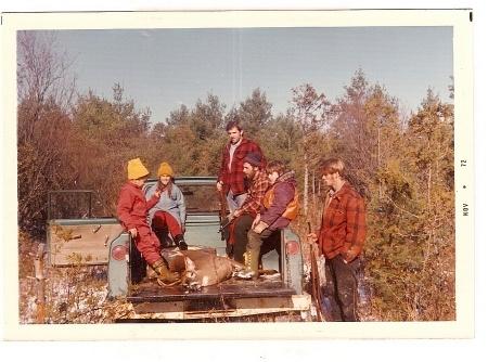 deer hunting 1973
