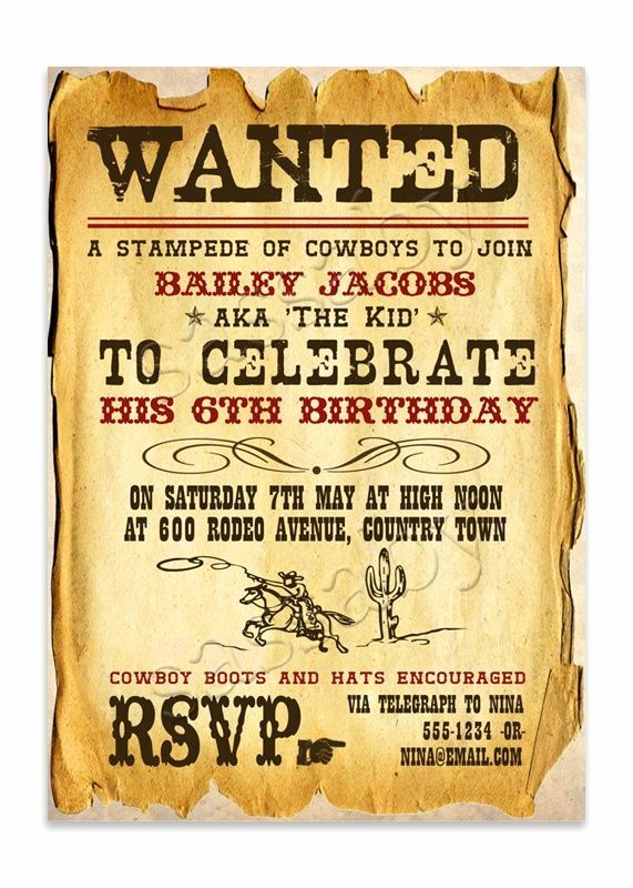 Western Theme Party Invitation Template New 16 Best Images About Frontier On Pinterest Wild West Birthday Party Western Theme Party Wild West Party