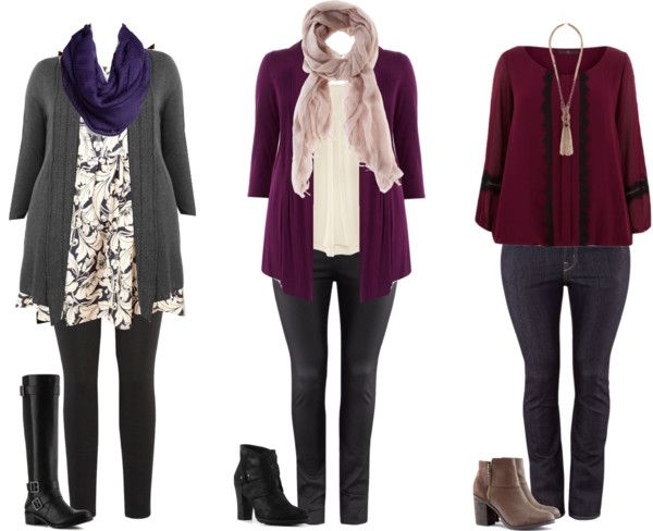 """""""Plus Size Fall Looks"""" by hii-live on Polyvore"""