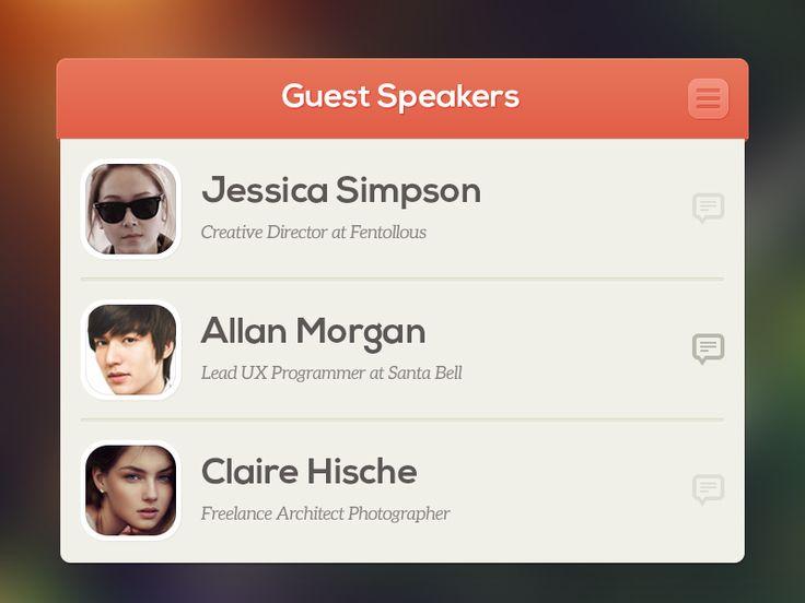 Guest Speakers by Nuruzzaman Sheikh