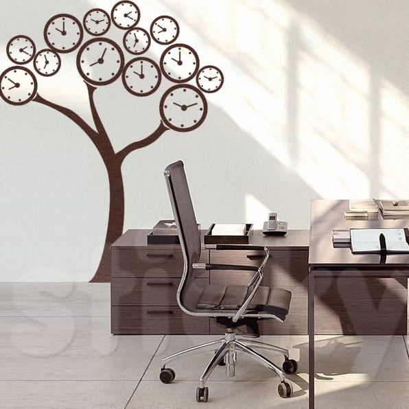 Wall Sticker TIME TREE by Sticky!!!