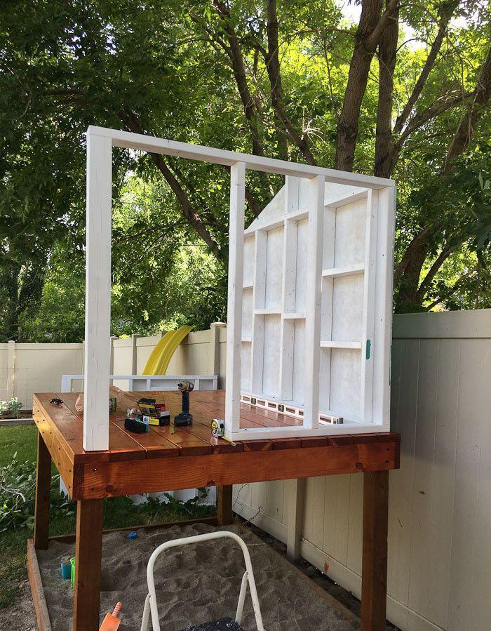 Stelzenhaus Selber Bauen Anleitung Wände Holz House Garden Build
