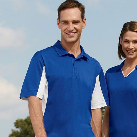 Stay with the trend on the sports field with Harriton M355 Polo Shirt for mens