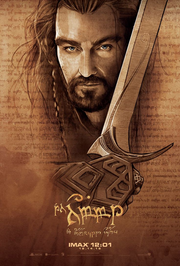 Thorin Escudo-de-Carvalho em novo poster do Hobbit