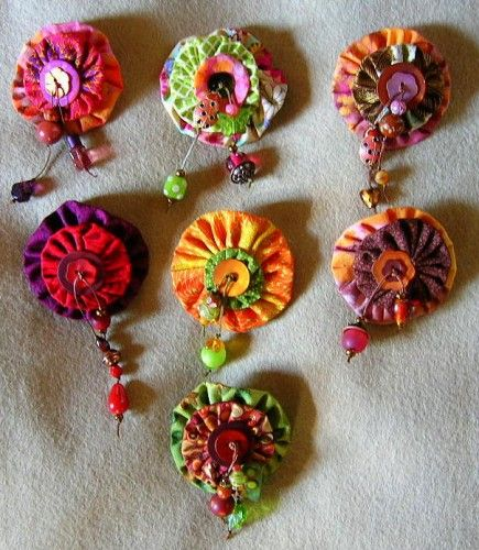 yo-yo and beads it won't let me scroll again; these could be inspiration for polymer