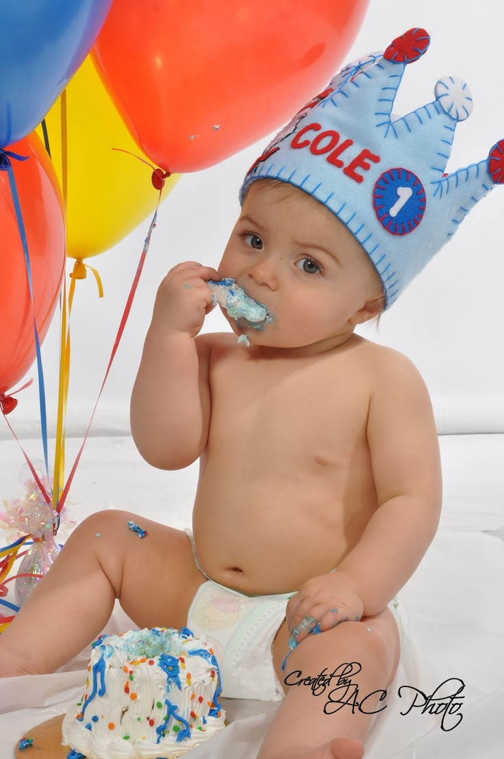 boy 1st birthday photo poses - Google Search
