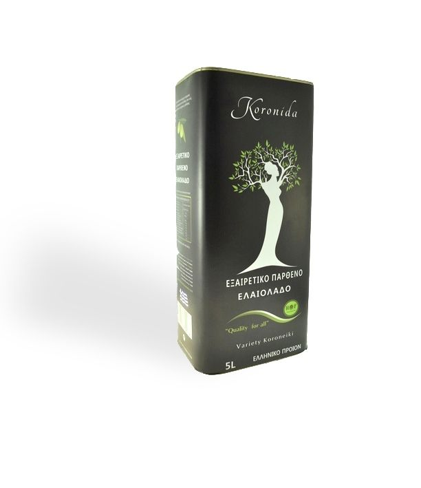 Olive oil KORONIDA on Packaging of the World - Creative Package Design Gallery