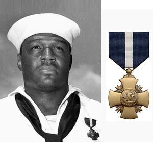 Dorie MIller, a messman in the U.S. Navy was awarded the Navy Cross for his heroic deeds at Pearl Harbor (1st African American to be awarded the Navy Cross). ALL HE DID The Morning of Pearl Harbor Bombing was carry wounded sailors to safer locations, move his injured Captain (the Captain refused to leave his post & remained until his death), load machine guns, take control of one & began firing at Japanese planes (He HAD NO TRAINING IN OPERATING ONE). He fired until he ran out of ammunition.