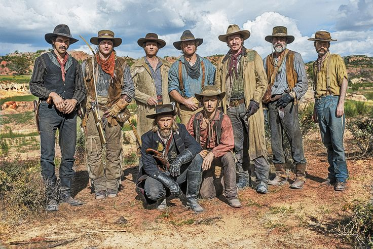 """Early Texas Rangers as depicted in the History Channel's TV miniseries """"Texas Rising."""" Originally Stephen Austin founded the Rangers in 1821. This is about 1836."""