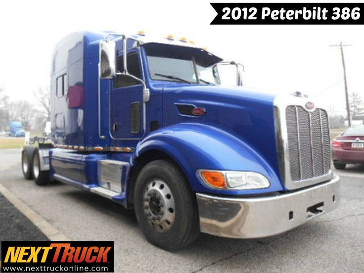 Our featured truck is 2012 #Peterbilt 386, Cummins Engine, 13 Spd Trans., Engine Brake, 3.36 Ratio, Air Leaf Suspension. Check out this week's recently added #trucks at http://www.nexttruckonline.com/trucks-for-sale/All-Categories/All-Makes/All-Models/results.html?days_old-max=7 #TrucksForSale #Trucking #NextTruck