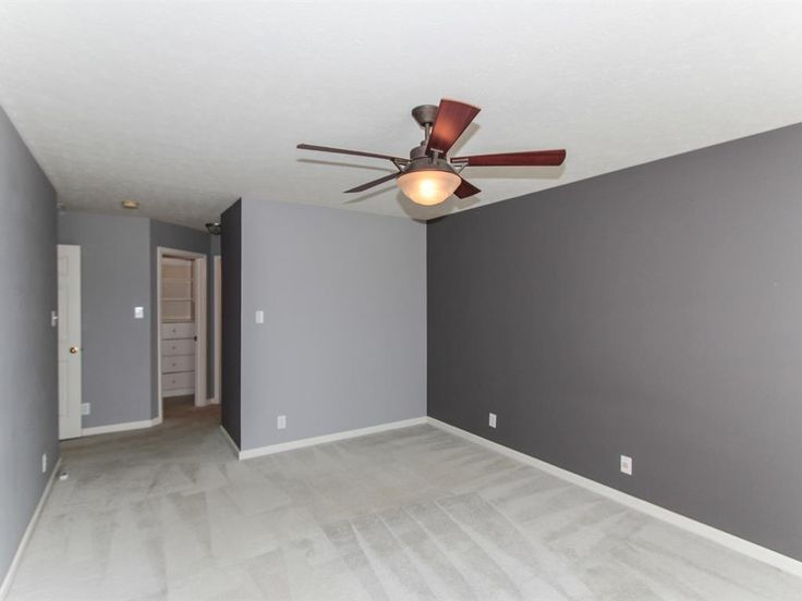 Master Bedroom has 2! walk in closets.  The bath has a jetted tub also!