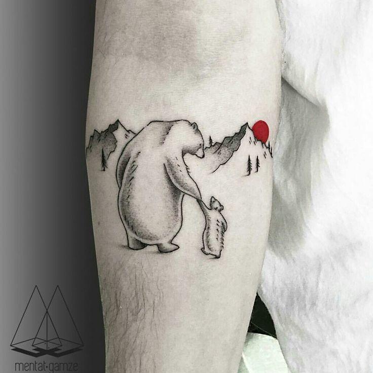 Mentat Gamze tattoos - Bear Family