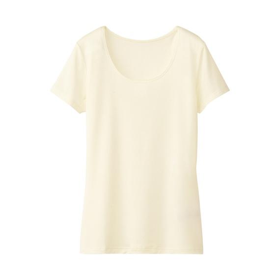 W's heattech scoop neck T-shirt (S) http://www.uniqlo.com/fr/CPaGoods/itemcode=072976