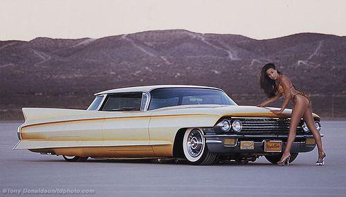Gene Winfield's custom Cadillac Maybelline for Hot Rod magazine. ©Tony Donaldson/tdphoto.com #Automotive #photography #pinup