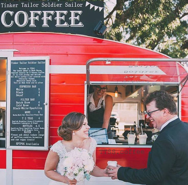 Because what's a wedding without coffee, right?!