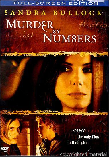 Murder By Numbers (Fullscreen) (DVD 2002) | DVD Empire
