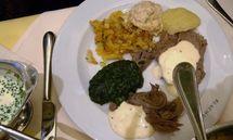Tafelspitz at Restaurant Plachutta