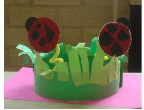 Gras en lieveheersbeestje :)