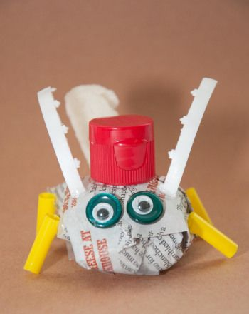 This Earth Day, create an adorable litter bug while learning about the importance of recycling.