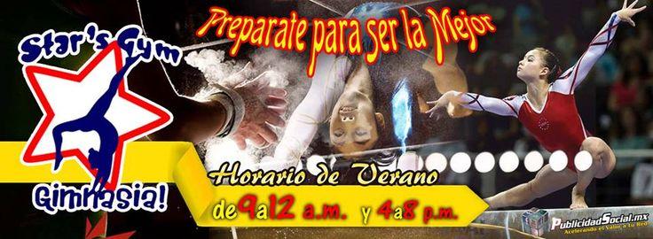 Preparate para ser la mejor :)  Gimnasia Artistica de Ciudad Obregon  Star's Gym
