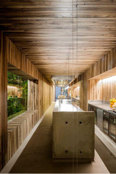 Die besten 25+ Halboffene Küche Ideen auf Pinterest Kleine - durchreiche kuche wohnzimmer modern