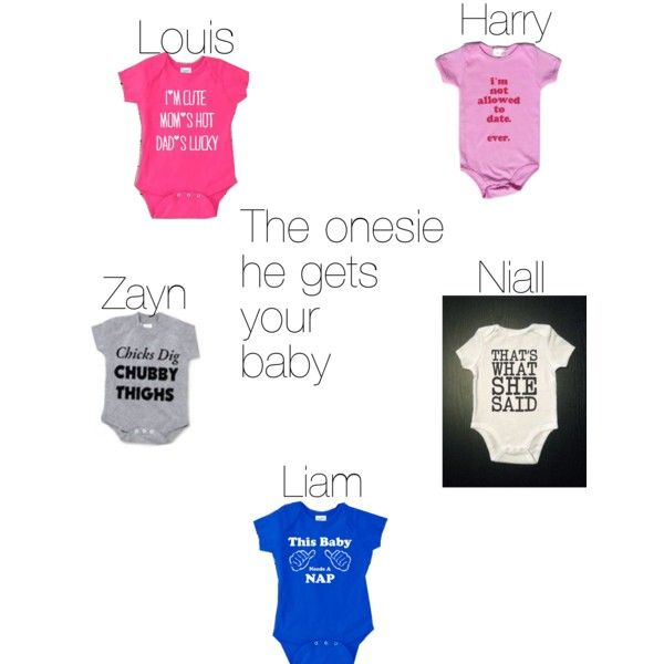 One direction preferences (the onesie he gets your baby)