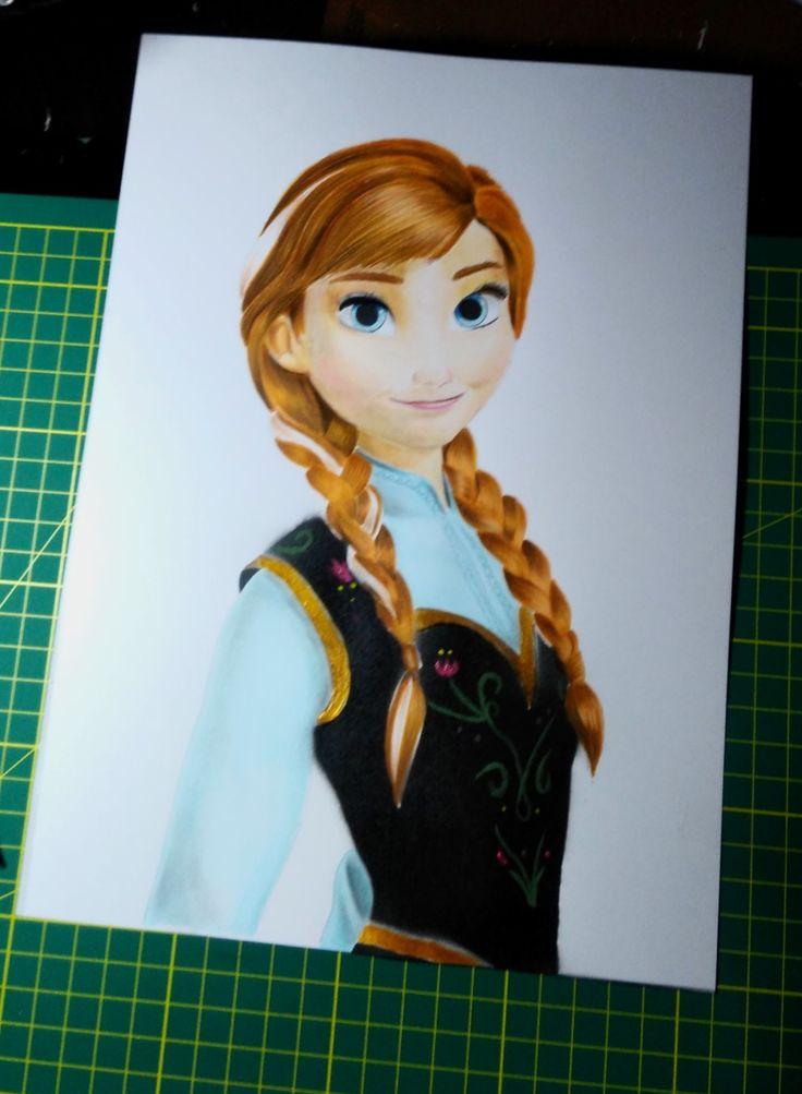 Como Dibujar A Anna De Frozen 2 How To Draw Anna Frozen 2 Drawing Frozen 2 Anna Disney Frozen Para Colorear Videos De Como Dibujar