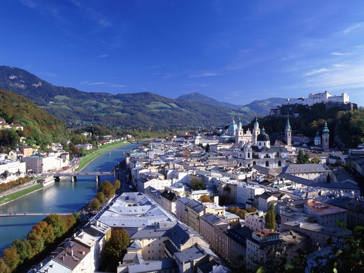 "Top 10 Cities in Europe: Readers' Choice Awards 2014 - Condé Nast Traveler 9. Salzburg, Austria ShareGrid View Readers' Rating: 81.270 Salzburg, or ""Salt Castle,"" is beloved by readers for its mountain views and Baroque splendor. It's also home to one of the best breweries in the world, the Augustiner Bräu."
