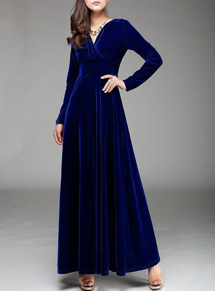 Women Maxi Dress Plus Size 2016 Sexy Causal Vintage Winter Autumn Ankle-length Evening Party&Club Elegant Long Dress