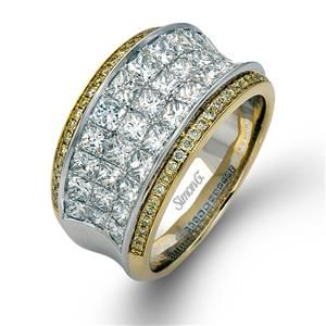 Shop online SIMON G MR1902 Yellow Gold DIAMOND Rings  at Arthur's Jewelers. Free Shipping