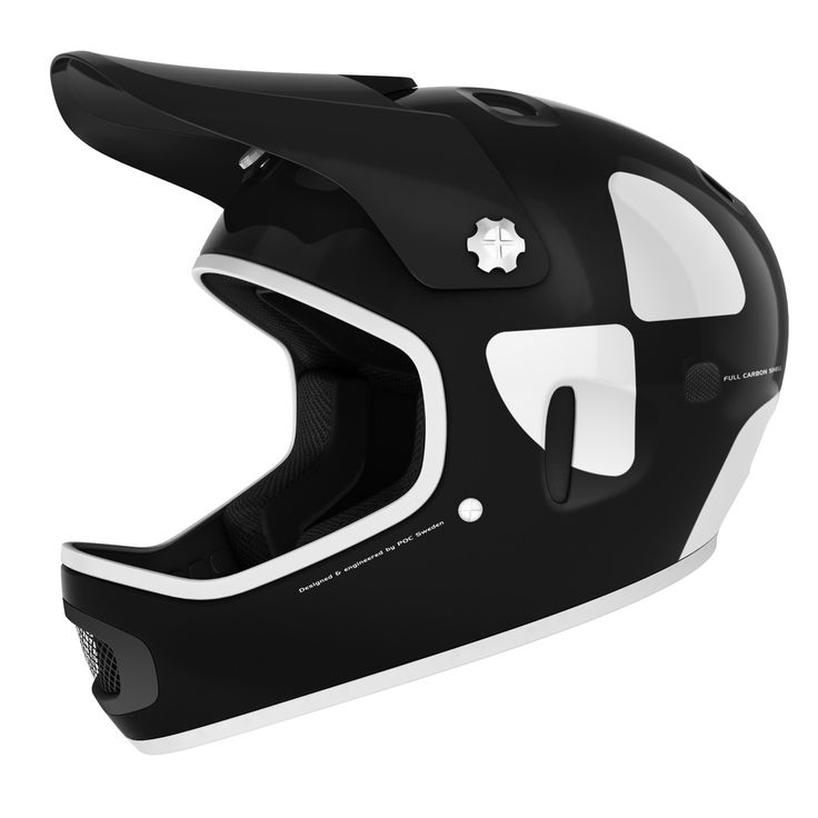 POC - Cortex DH MIPS Uranium Black Mountain Bike Helmet