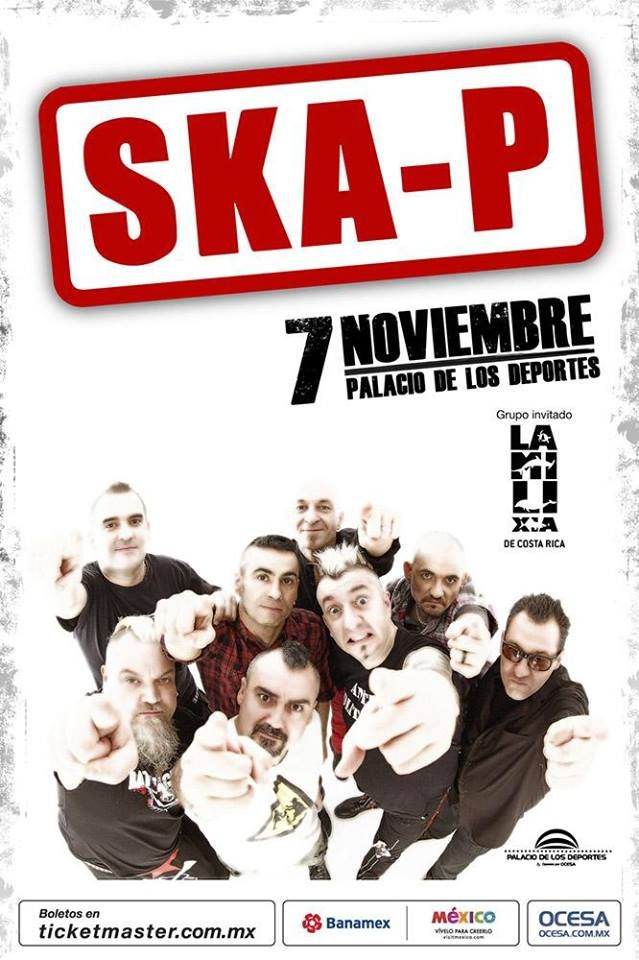 La Milixia con SKA-P se presenta en Mexico http://adondeirhoy.com/conciertos-en-costa-rica/la-milixia-con-ska-p-en-mexico