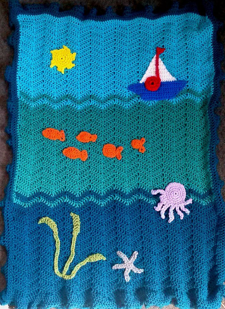 "Fun Theme Blanket - ""Under the Sea"""