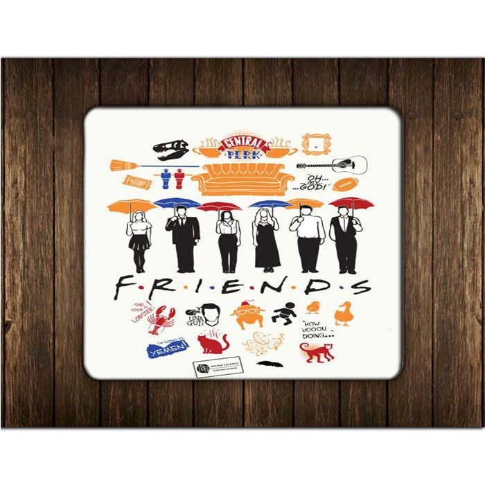 FRIENDS COLLAGE MOUSE PADS