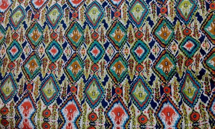 Tribal on cotton