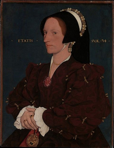 Lady Lee (Margaret Wyatt, born about 1509) Artist: Workshop of Hans Holbein the Younger (German, Augsburg 1497/98–1543 London) Date: early 1540s