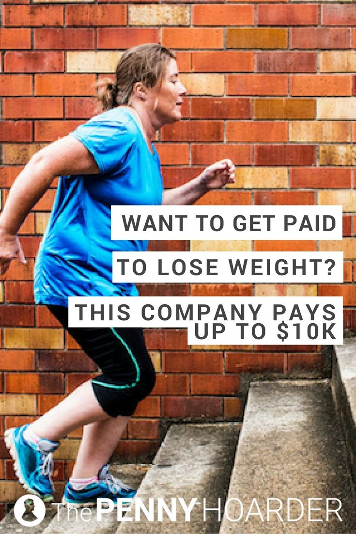 If you've ever wondered if you can get paid to lose weight, the answer is yes. This company will pay you up to $10,000, just for getting more healthy. @thepennyhoarder