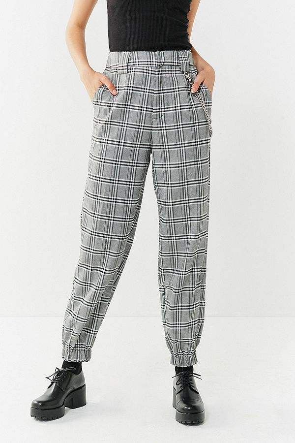 cf71c6d1424 Slide View  2  I.AM.GIA Cobain Relaxed-Fit Plaid Chain Pant