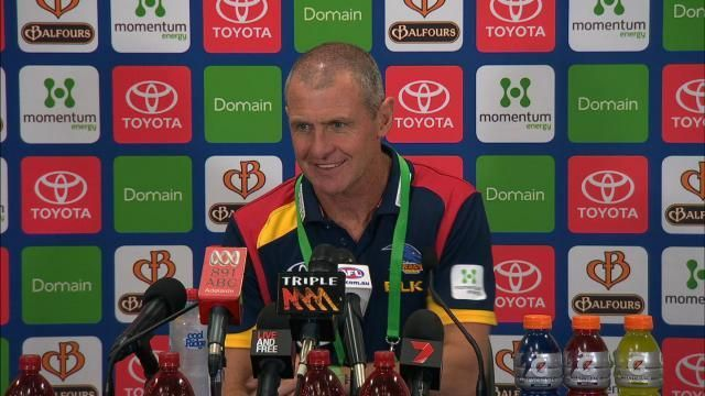 RIP Phil Walsh our coach 2015. Tragic news today of his murder. Son has been charged. Thoughts go out to all family members and crows players and supporters.