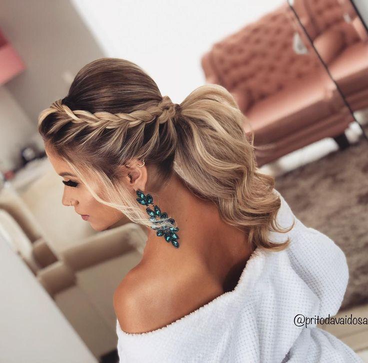 lange Haarmodelle – Aprenda Fazer Maravilhosos Penteados für Noivas und Madrinhas de Casamento lindos … – Cordula Neu