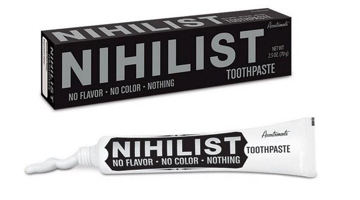 Зубная паста «Нигилист». Изображение № 1.