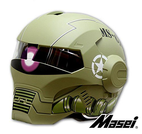 LC Prime Masei 610 Atomic Man Modular Flip Up Motorcycle Approved Clear Visor Cool Helmet Masei Helmet http://www.amazon.it/dp/B010WKAD7W/ref=cm_sw_r_pi_dp_imBDwb0MSBZFA